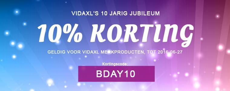 10 years vidaXL