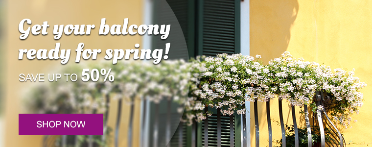 Get your balcony ready!