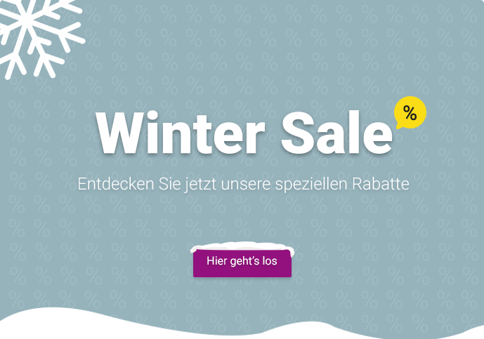 General winter sale