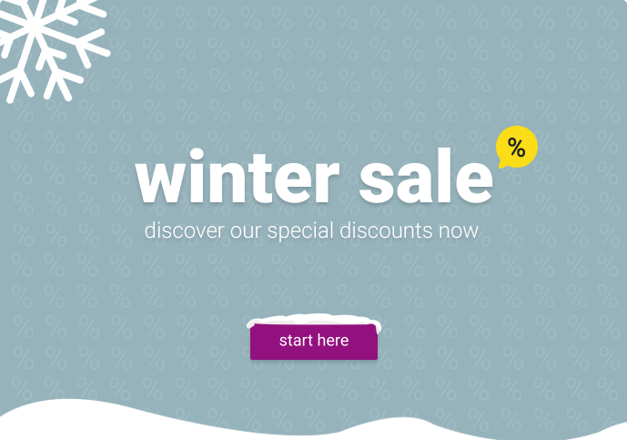 General winter sale