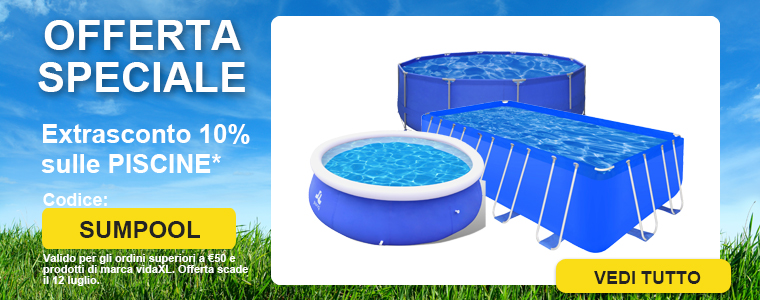 Summer sale pool