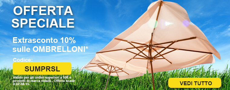 Summer sale parasols