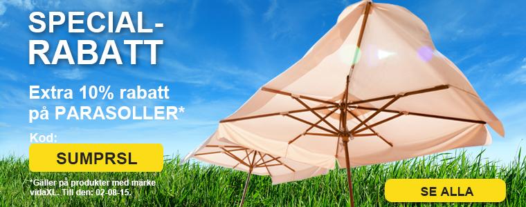 Summer sale parasols
