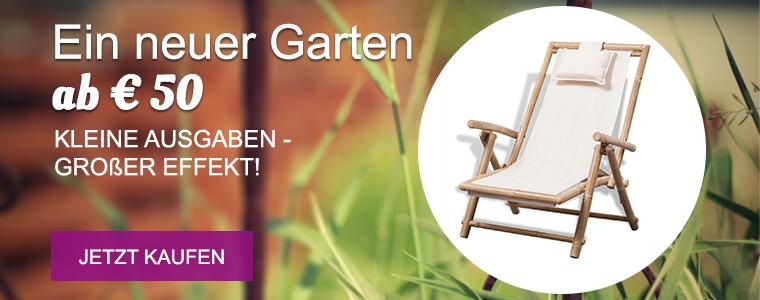 A garden from €50