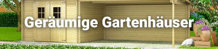 Gartenhäuser & Geräteschuppen