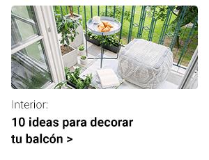 10 ideas para decorar tu balcón