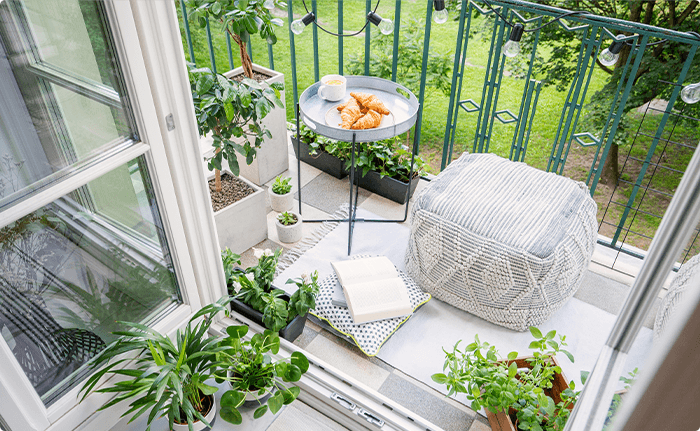 10 ideas to decorate your balcony