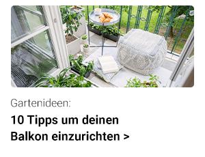 10 Ideen um deinen Balkon zu dekorieren