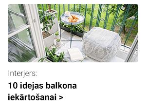 10 idejas balkona iekārtošanai