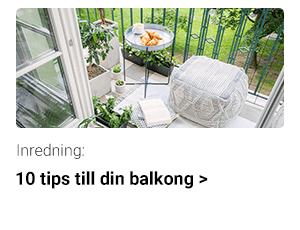 10 tips till din balkong