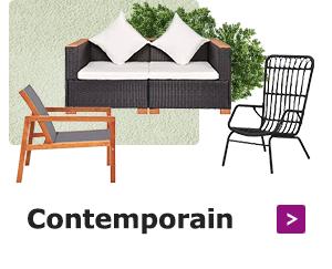 Ajoutez de la personnalité à votre espace extérieur avec des meubles modernes