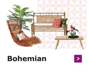 Verander je achtertuin in een bohemian oase