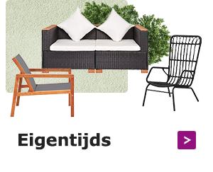Geef je buitenruimte wat persoonlijkheid met moderne meubelen